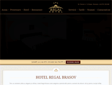 Tablet Preview of hotelregalbrasov.ro